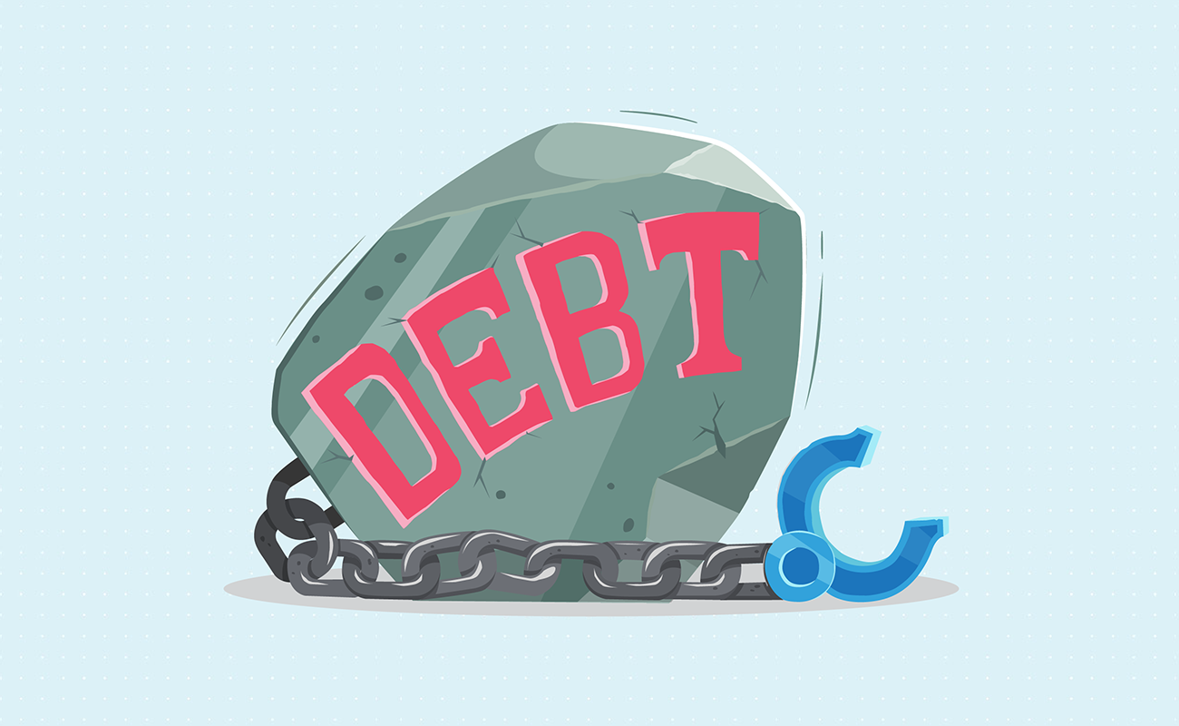 Break away with debt