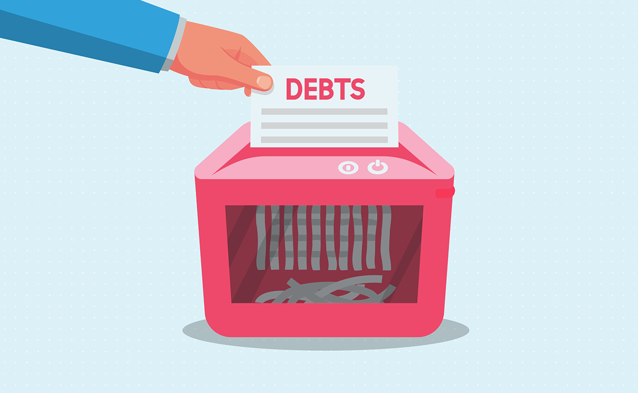 Shreading your debts one bill at a time
